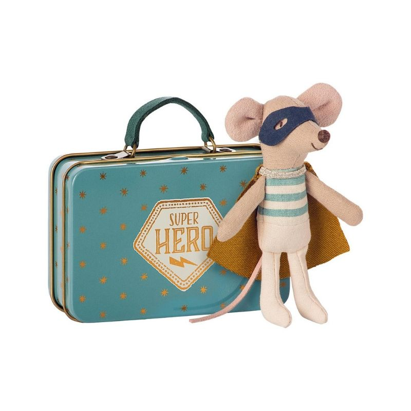 Superhero Mouse In Suitcase - Moo Like a Monkey