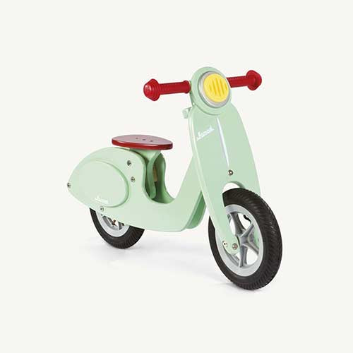 Mint Wooden Retro Balance Bike - Moo Like a Monkey