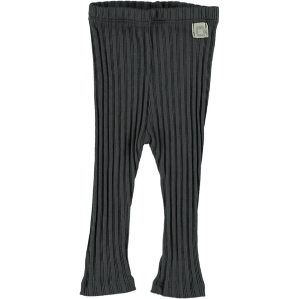 Anthracite Rib Leggings