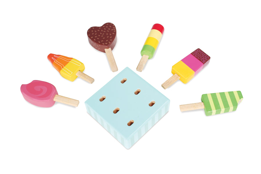 Wooden Ice Lollies - Moo Like a Monkey