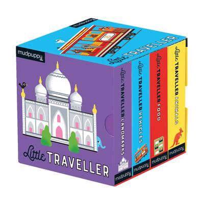 Little Traveller Board Book Set - Moo Like a Monkey