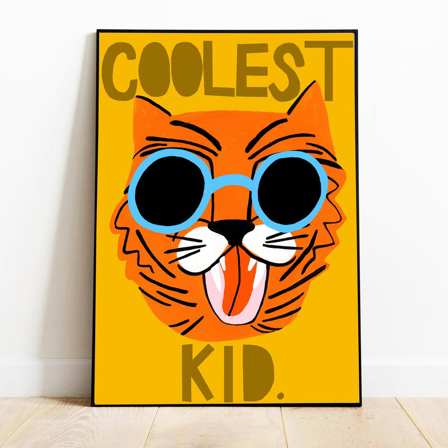 Coolest Kid Orange - Moo Like a Monkey