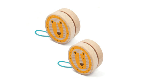 Wooden Yoyo - Lion