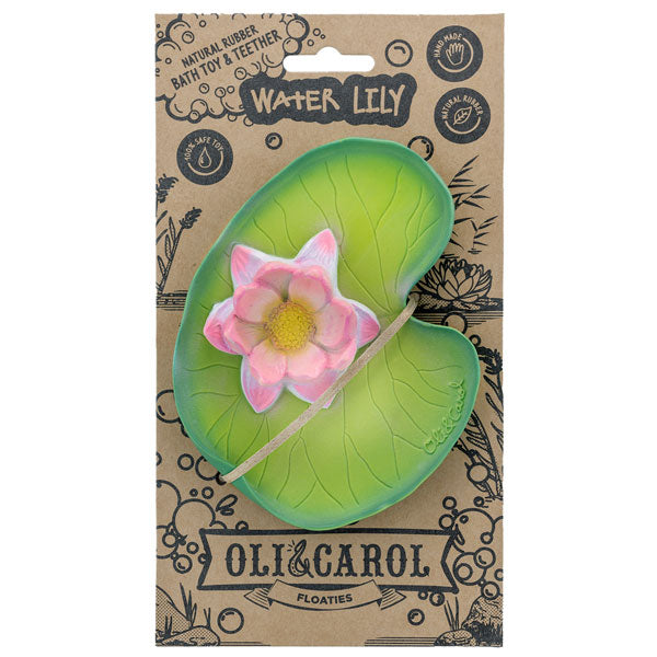 Water Lily Pad Teether - Moo Like a Monkey