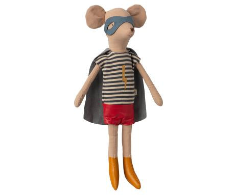 Superhero Mouse in shorts
