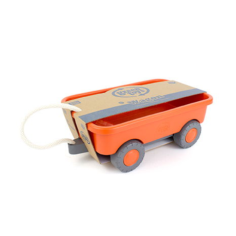 100% Recycled Plastic Toy Wagon - Moo Like a Monkey