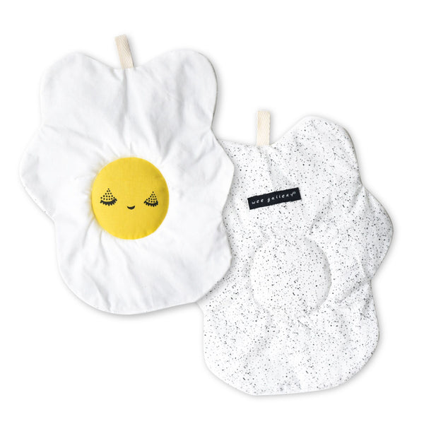 Egg Crinkle toy - Organic Cotton