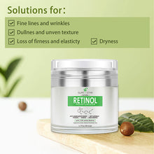 2.5% Natural Face Retinol Cream 1.7 oz - Swan Star