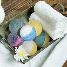 12 Pure Bath Bombs-Swan Star