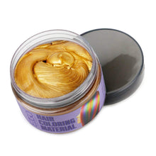 Instant Hair Wax Dye Styling Cream Mud(Yellow)
