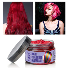 Instant Hair Wax Dye Styling Cream Mud(Red)