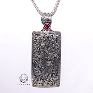 Adam's Red Pendant