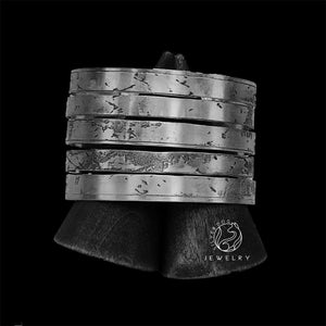 Electrify Stacked Cuff | SilverDog Jewelry