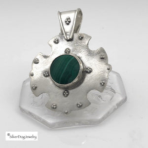The Warrior Malachite | SilverDog Jewelry