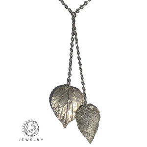 Two Leaves | SilverDog Jewelry