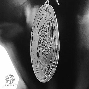 Vortex Earrings | SilverDog Jewelry