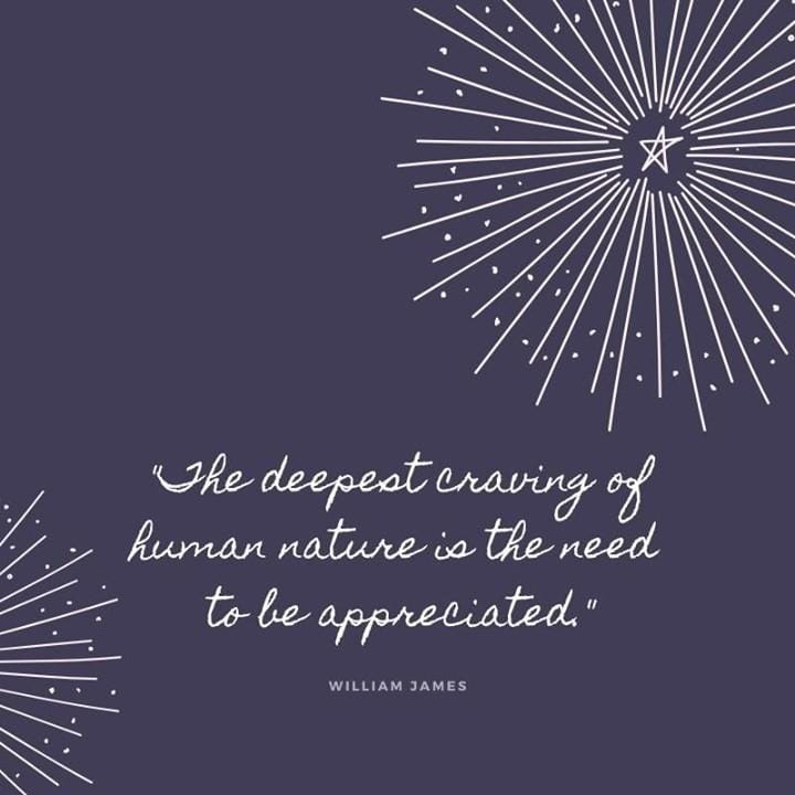 If you appreciate something, let...