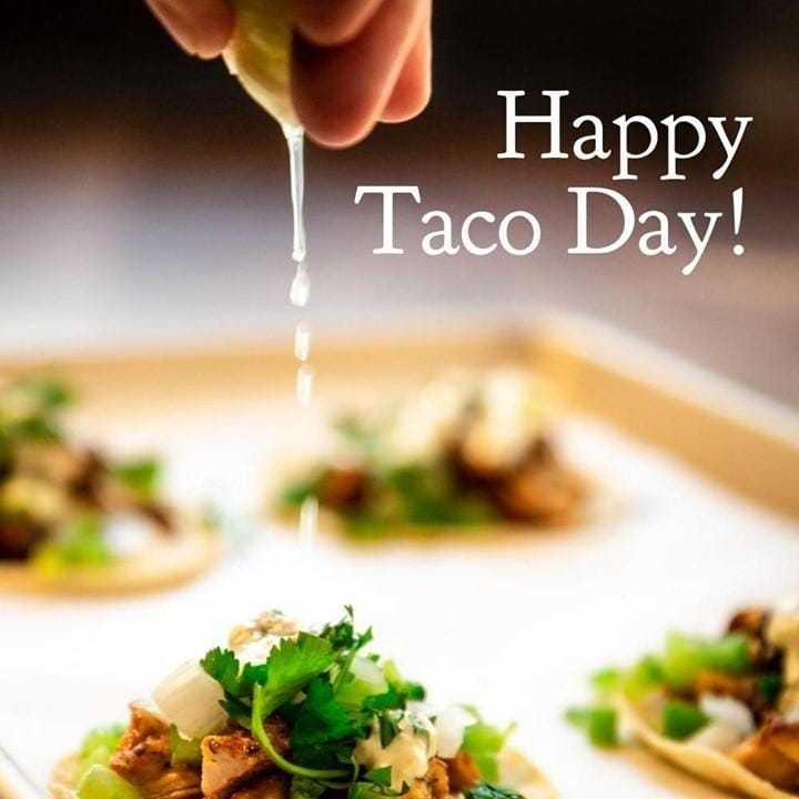 It's National Taco Day! What...
