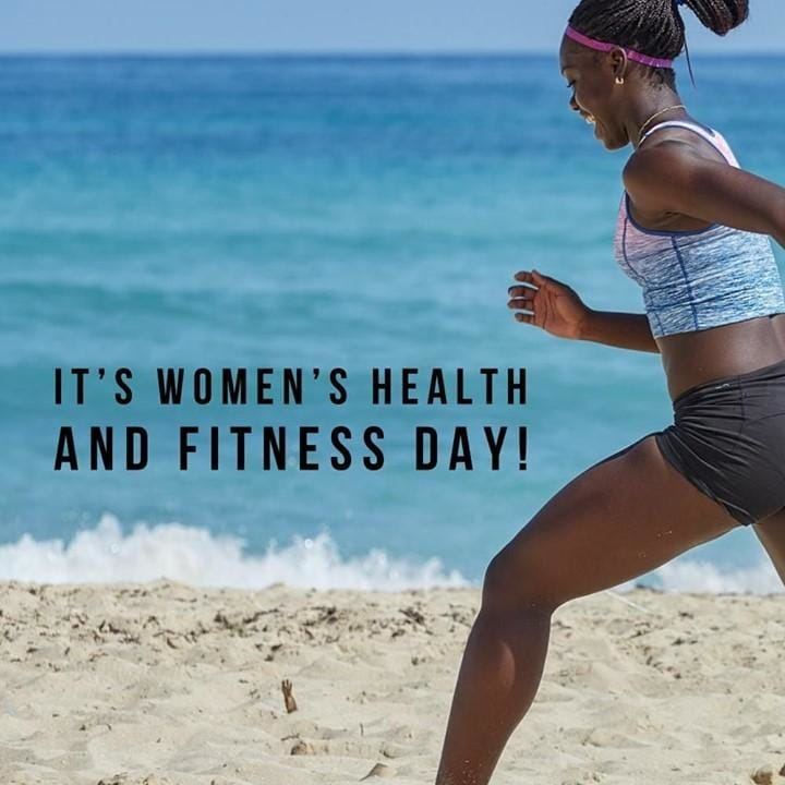 It's Women's Health & Fitness...