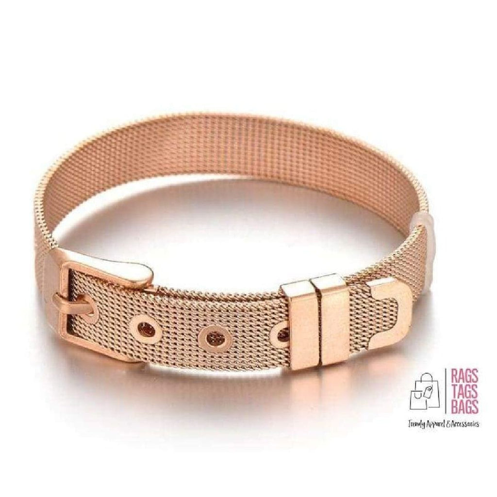 Slider Bracelet (Rose Gold) Like. Share....