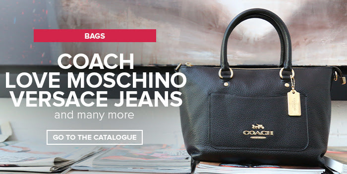 Rags|Tags|Bags: Coach, Love Moschino, Versace Jeans