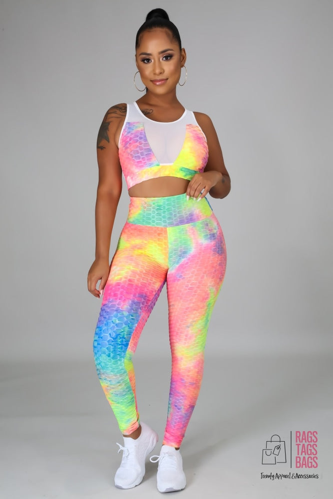Rainbow Grind Legging Set