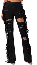 MG DISTRESSED DENIM (Black)
