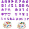40 Piece Letters and Numbers for decorating - Cake Magician