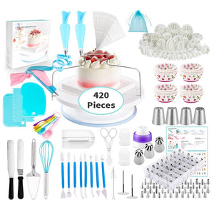 420 Piece Decorating Set - Cake Magician
