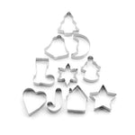 10 Christmas Cookie Cutters - Cake Magician