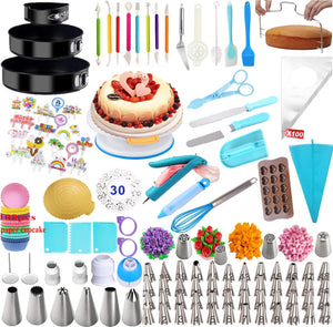 375 Piece Cake Decorating Set - Cake Magician