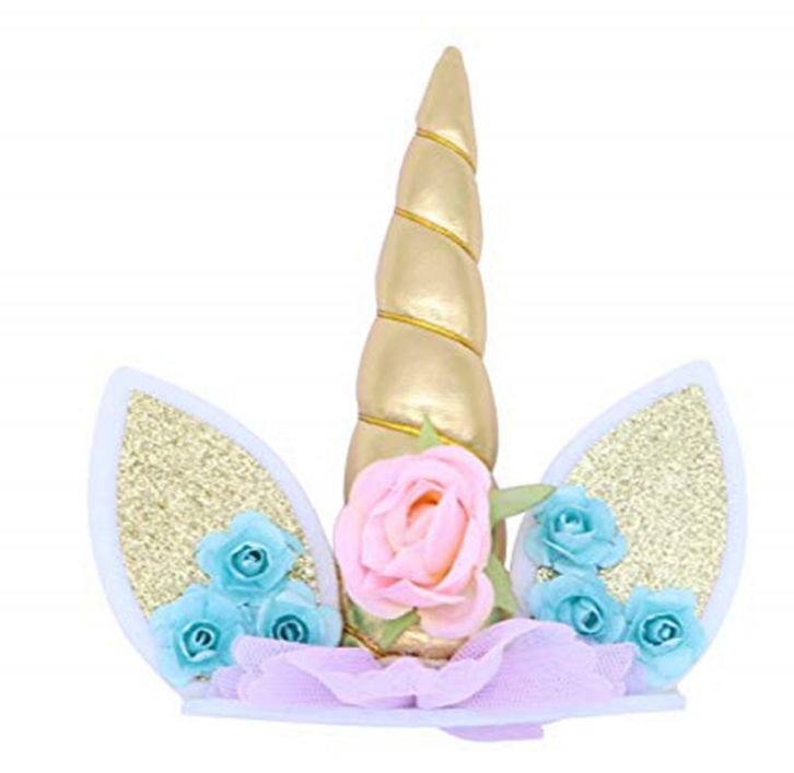 Unicorn Birthday Cake Topper - Cake Magician