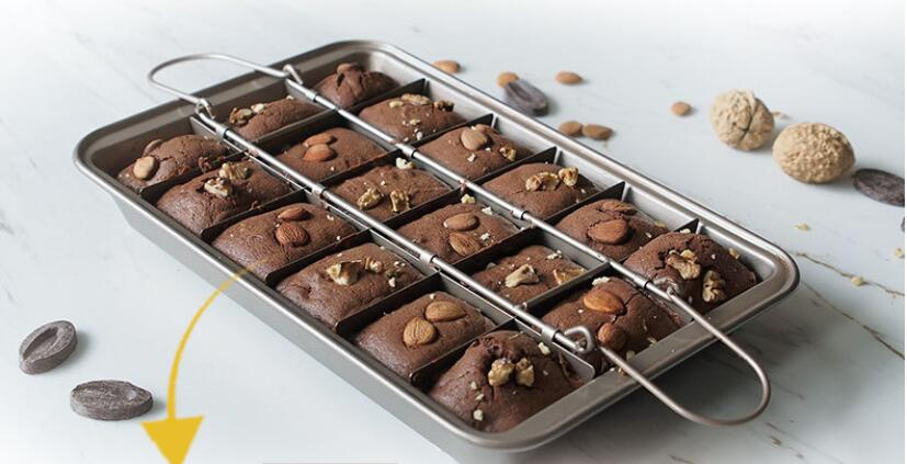The Perfect Brownie Baking Pan - Cake Magician