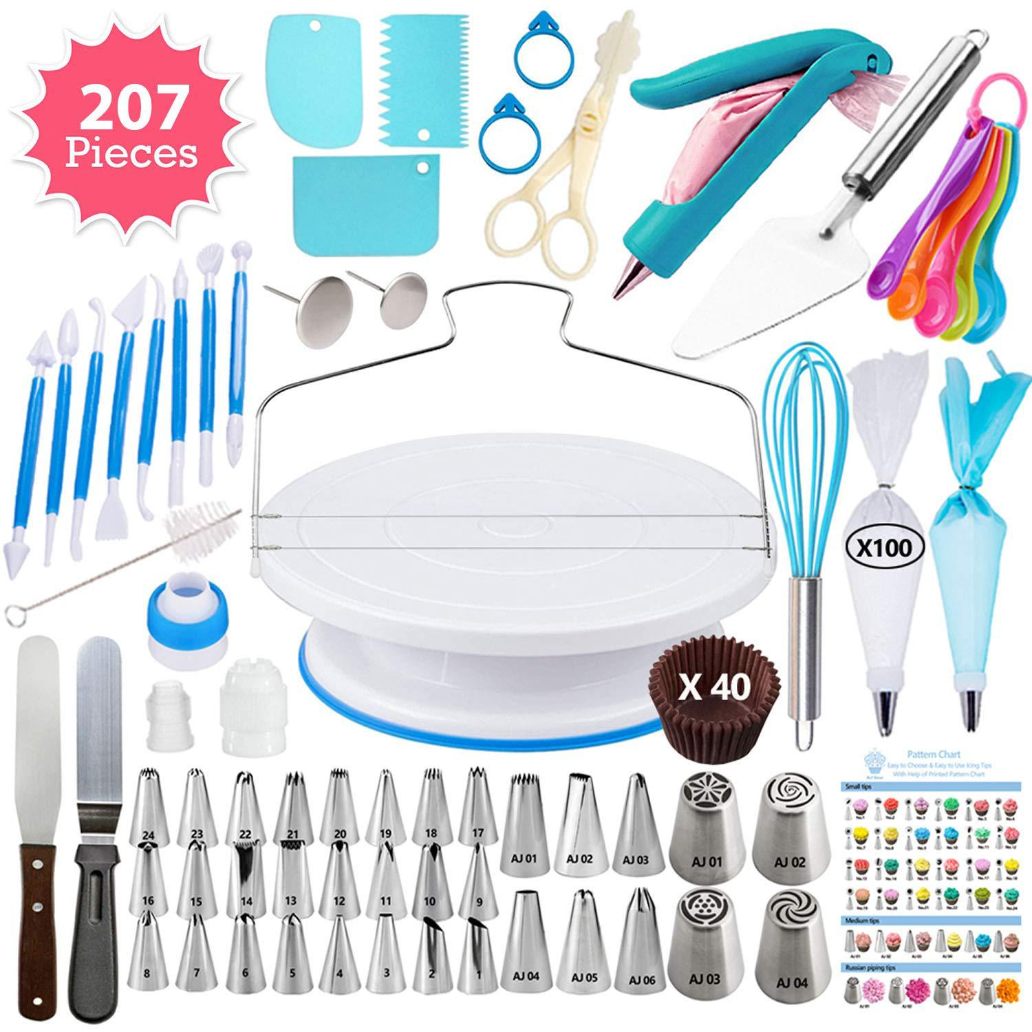 207 Piece Decorating Set - Cake Magician