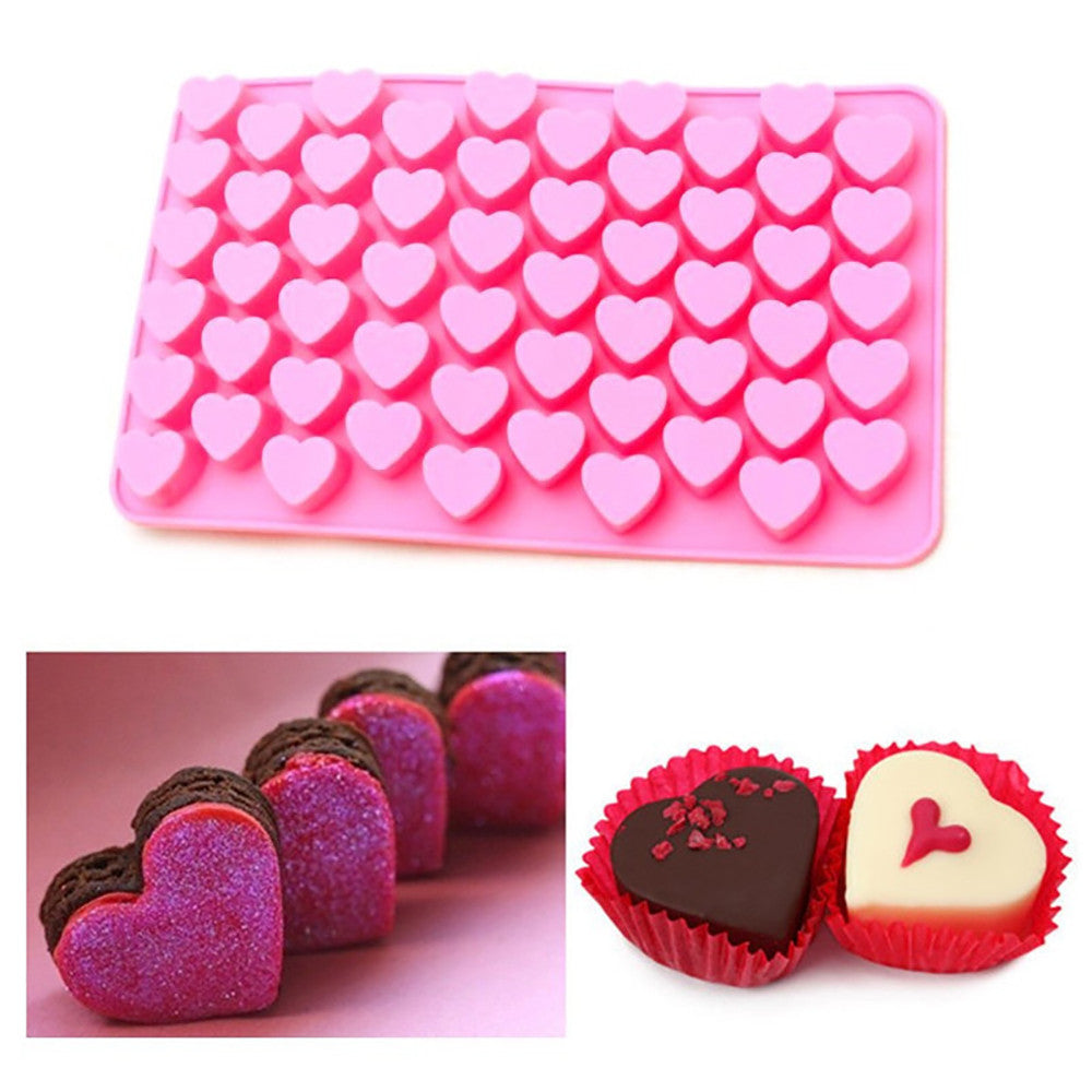 Heart shaped silicone mold - Cake Magician