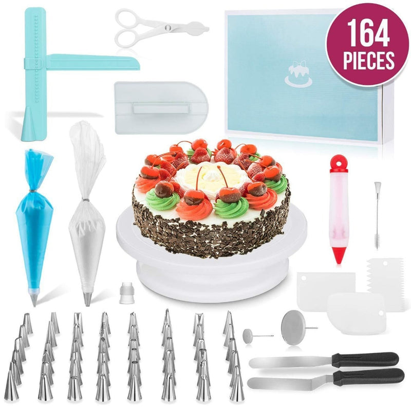 DIY Cake Decorating Set  (164 Pcs) - Cake Magician