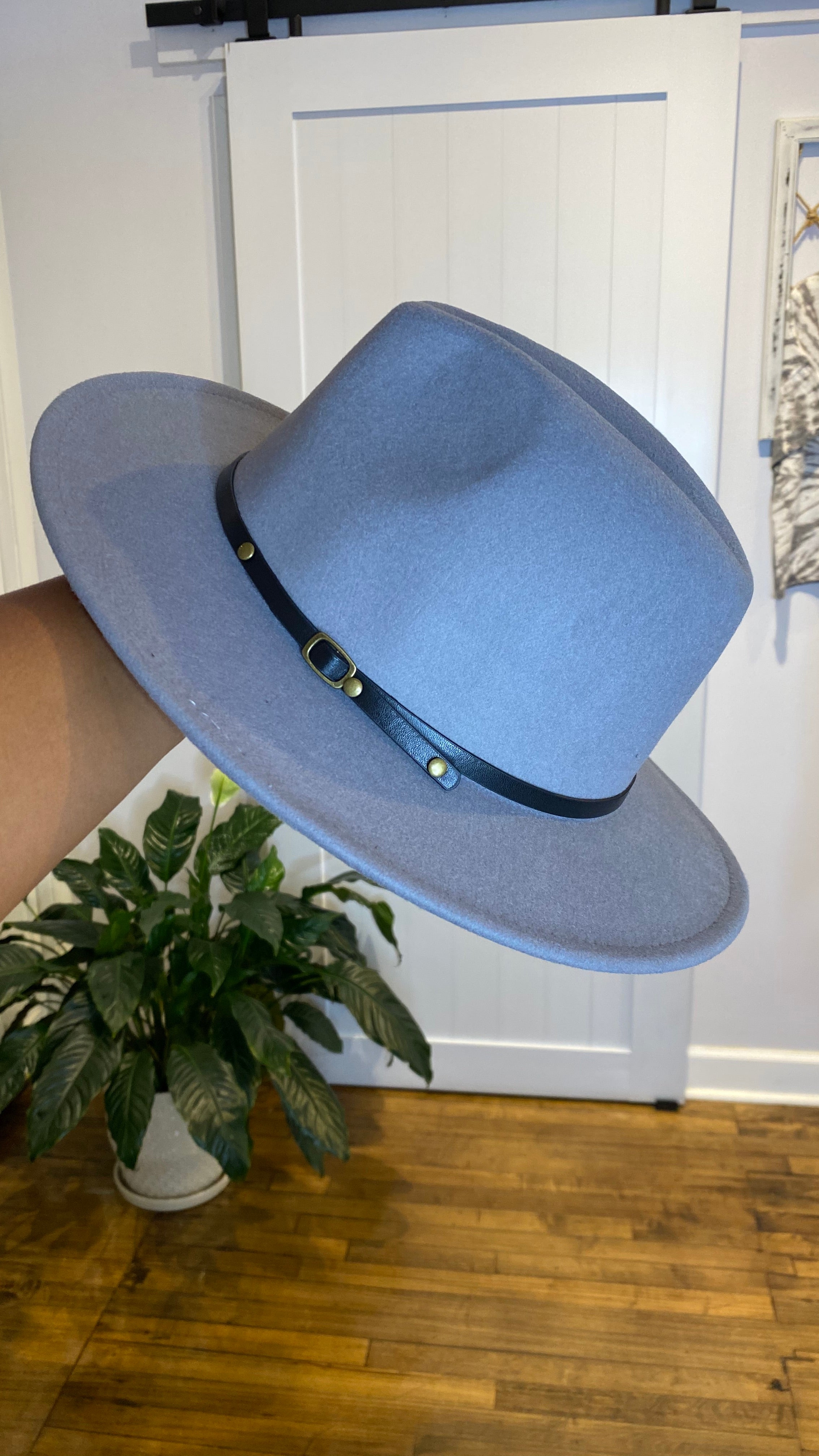 Red Bottom Panama Hat