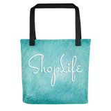 Shop Life™ Watercolor Tote Bag - Ocean