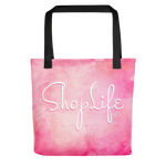 Shop Life™ Watercolor Tote Bag - Sunrise