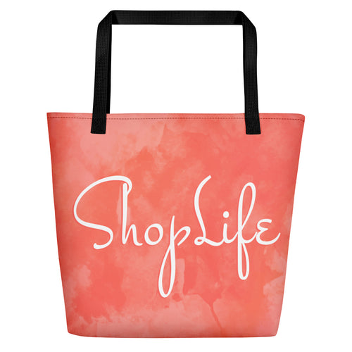 Shop Life™ Living Coral Beach Bag