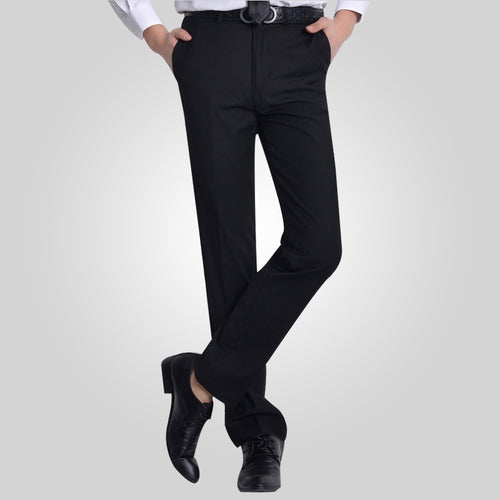 2018 Formal Wedding Men Suit Pants Fashion Slim Fit Casual Brand Business Blazer Straight Dress Trousers