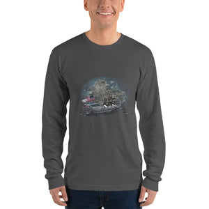 Antigua-Woobie Long sleeve t-shirt