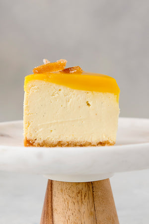 Load image into Gallery viewer, gluten free single lemon cheesecake slice