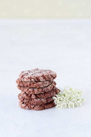 Load image into Gallery viewer, gluten free vegan almond fudge chocolate cookie coconut oil dairy-free egg-free