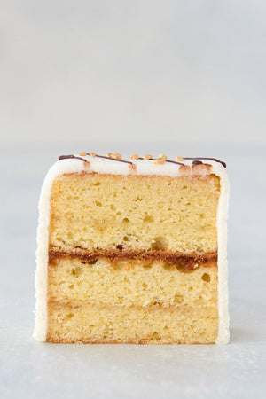 Load image into Gallery viewer, gluten free almond pound cake single slice face