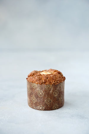 Load image into Gallery viewer, gluten free muffin in panettone wrapper