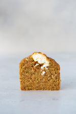 gluten free carrot teacake