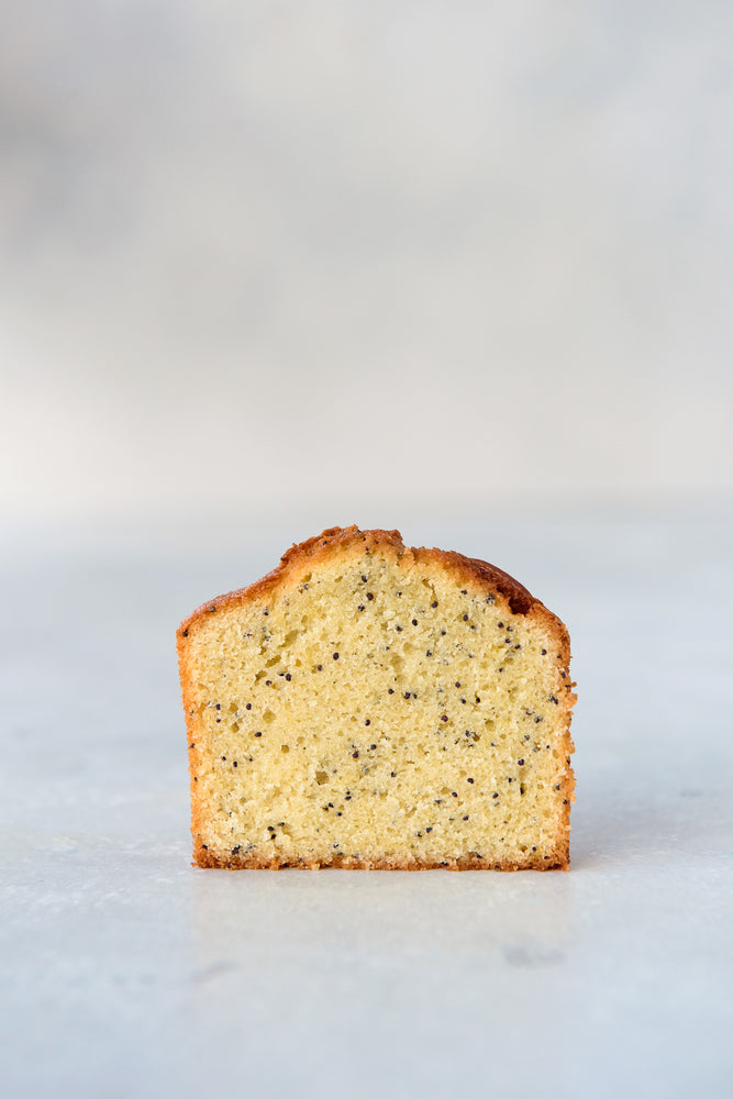 Almond Poppyseed Tea Cake