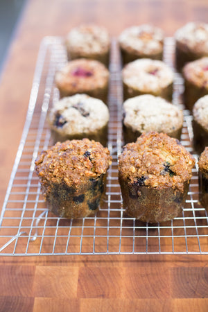 Load image into Gallery viewer, gluten free muffins on cooling rack
