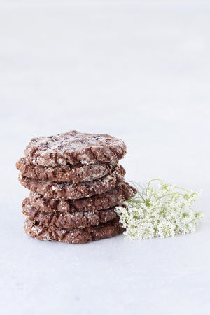 Almond Fudge Cookies, pack/6